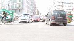 Berlin Traffic Stock 1 Stock Footage
