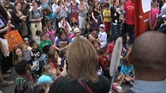 Protestors - Occupy Wall Street, Kiddie Protestors Stock Footage