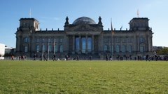 Reichstag Stock Footage