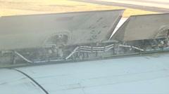 Air brakes closed hdi Stock Footage