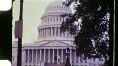 United States Capitol Building Washington 1960s Vintage Film Home Movie 890 Stock Footage