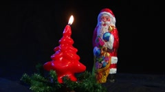 10612 kill santa claus nicolas axe christmas realtime Stock Footage