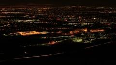 Denver Overlook at Night Arkistovideo