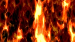 Flames of the Fire - HD Stock Footage