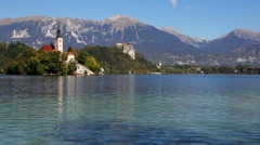 Bled, Slovenia Stock Footage