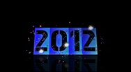 Stock Video Footage of 2012 new year