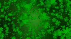 Clover Leaf Infinity Loop Stock Footage