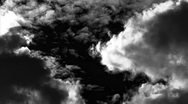 Stock Video Footage of Storm Clouds Timelapse 01