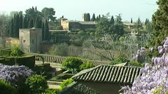 Alhambra - 1024x576p (16x9) 29,97 fps - f-jpeg Stock Footage