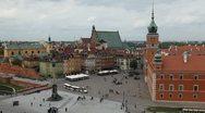 Royal Palace, Warsaw Old Town, Stare Miasto, Castle, Poland, Europe Stock Footage