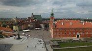 Royal Palace, Castle, Warsaw Old Town, Stare Miasto, Poland, Europe Stock Footage