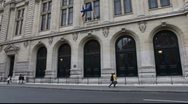 Stock Video Footage of Sorbonne in Paris