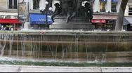 Stock Video Footage of Fountain in Paris