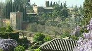 Stock Video Footage of Alhambra - 1024x576p (16x9) 25 fps - f-jpeg