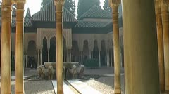 Alhambra - 1024x576p (16x9) 25 fps - f-jpeg Stock Footage