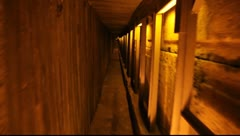 The Western Wall Tunnels, Jerusalem - stock footage