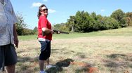 Stock Video Footage of Skeet shooting
