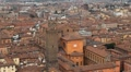 Cattedrale di San Pietro, HD Aerial View of Bologna, Italy, Bologna Cathedral HD Footage