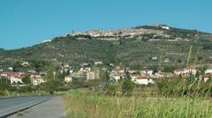 Tuscan city - stock footage