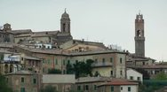 City in Tuscany Stock Footage