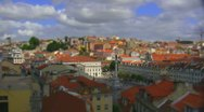 Stock Video Footage of Scale model miniature fake: Lisbon, Portugal