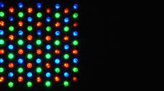 Flashing Led For Music Clip Stock Footage