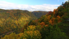 Appalachian Mountains of WV Stock Footage