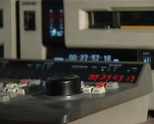 Video-tape editing Stock Footage