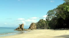 Nice beach 3, seamless looping Stock Footage