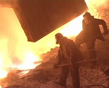 Metallurgists Stock Footage