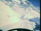 Stock Video Footage of Snow driving--From 1960's film