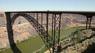 Stock Video Footage of Snake River Canyon Perrine Bridge 1