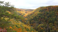 Valley of colors - stock footage