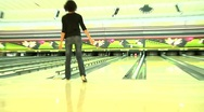 Bowling. Stock Footage