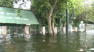 Stock Video Footage of Flood Waters Submerge Ayutthaya, Thailand, October 12, 2011 920