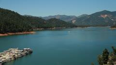 Lake Shasta.mp4 Stock Footage