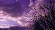 Timelapse Sunset Cloudscape HD41 - SD wide Stock Footage