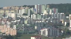 Buildings in Bratislava 1 Stock Footage