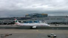 Frankfurt Airport Germany 06 Stock Footage