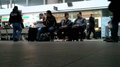 Stock Video Footage of Mexico City Benito Juarez Airport Terminal 2 04