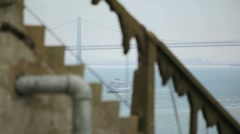 Alcatraz Boat 03 HD - stock footage
