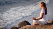 Meditation Stock Footage