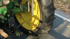Tractor Tire Stock Footage