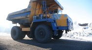Machine for loading coal Stock Footage