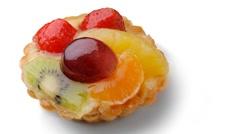 Fruit tart Stock Footage