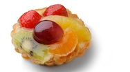 Stock Video Footage of fruit tart