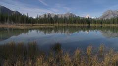 Buller Lake pan 002 Stock Footage