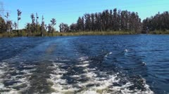 Boating on the Lake 2 of 3 Stock Footage