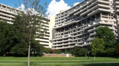 Watergate Building - stock footage