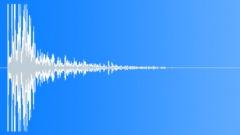 WarSounds - Bomb Explosion Medium Distance Muffled Warped 01 Warfare Sound, S Sound Effect
